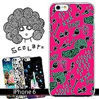 スカラー/50108/スマホケース/スマホカバー/iPhone6/アイフォン/スカラコ もけファイト ピンク かわいい ファッションブランド
