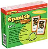 Best Edupressカードゲーム - Spanish in a Flash Cards Set 1 Review