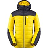 Spyder Glissade – Insulated Jacket, Men, Insulating Jacket, 783026, Black/Fleece, Extra-Large, Mens, Down Jacket, 191216