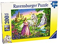 Princess with White Horse and Castle 200 Piece Puzzle by Ravensburger: Ages 8 And Up [並行輸入品]