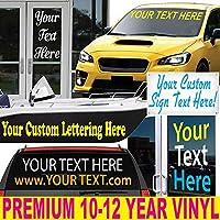 """4""""高を最大6"""" Long /プレミアムビニールレタリング/ Sold Per Line / Vehicles、車、トラック、ボート、サイン、ドア、Windows & Much More /カスタムレター番号テキストステッカー屋外デカールby 1060グラフィックス"""