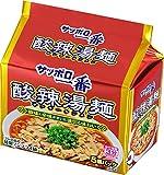 サッポロ一番 酸辣湯麺 5個パック 530g×6個