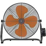 山善(YAMAZEN) 45cm工業扇風機 (床置き式)(ロータリースイッチ)(風量3段階) YKY-456