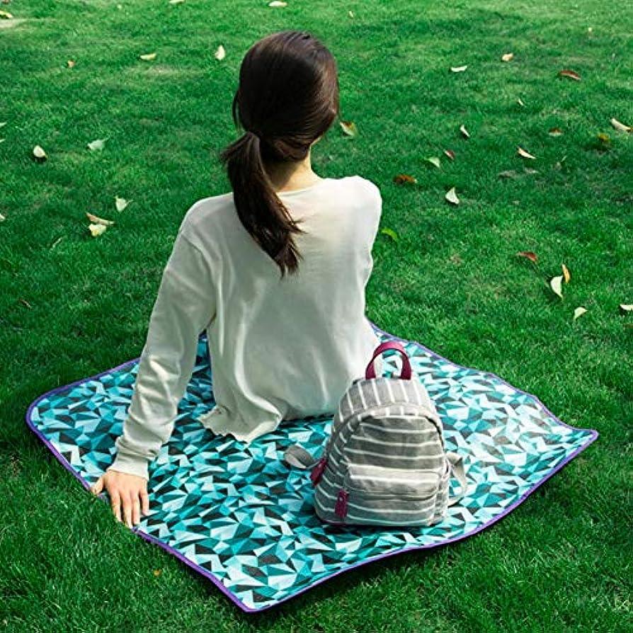 距離ブレンド恵みビーチマット 花見マット 防水 桜の観賞パッド 折りたたみパッド パーク遠足防湿ピクニックマット 布 環境保護