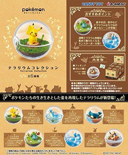 ポケットモンスター テラリウムコレクション 6個入りBOX (食玩)