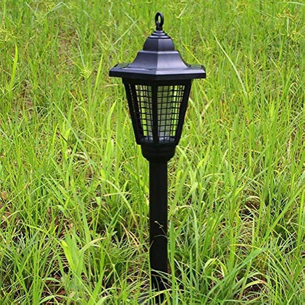 内陸全体に名目上のZapperライト、LEDソーラー六角蚊キラー、超静か、無放射、屋外防雨蚊/昆虫 (色 : A)