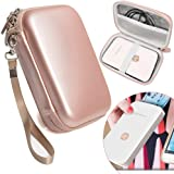Rose Gold Carrying and Storage Case Travel Bag for HP Sprocket Plus Instant Photo Printer, Mobile Printer Plus, Instant Photo