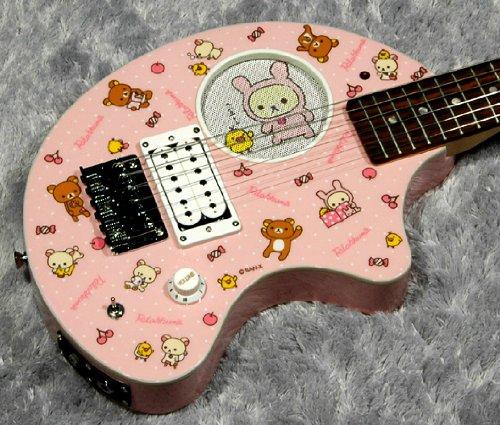 FERNANDES フェルナンデス ミニエレキギター ZO-3 YANCHA PK アンプ内蔵