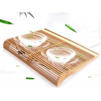 X-Jang ノートパソコン冷却パッド 冷却台,ノートPCクーラー ,超静音,4 LED靑い燈 ,搭載 USB接続