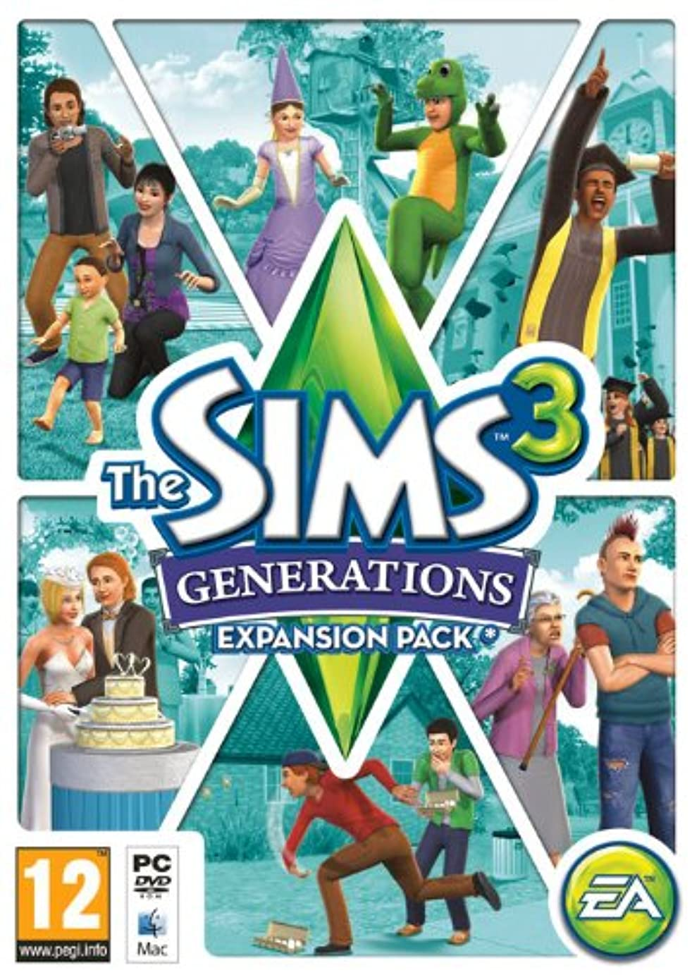 カレッジ木材保険をかけるThe Sims 3 Generations (PC) (輸入版)