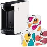 UCC ドリップポッド 一杯抽出 コーヒーマシン カプセル式 DP3 ホワイト + UCC ドリップポッドカプセル36個(モカ&キリマンジァロ・グァテマラ&コロンビア・マンデリン&ブラジル/各12個) ポッド・カプセル