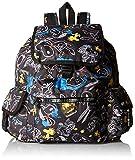 レスポートサック リュック LeSportsac Women's X Peanuts Voyager Backpack Chalkboard Snoopy [並行輸入品]