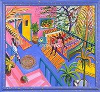 """壁アート印刷entitled I Like My Bed To Be外側under a tree by Jane Evershed 12"""" x 11"""" 3770735_2_0"""