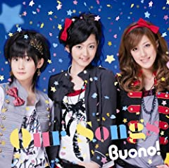 Buono!「MIRACLE HAPPY LOVE SONG」の歌詞を収録したCDジャケット画像