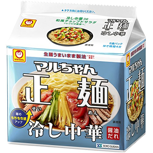 マルちゃん正麺 冷し中華 5P×6個
