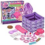 B Me My Spa Experience – Ultimate Kids Spa Kit w/ Nail Polish, Press On Nails, Nail Dryer, Stickers, Decals, Pedicure Pool, Bath Beads, Mask, Slippers, Satin Storage Bag & More – Amazon Exclusive