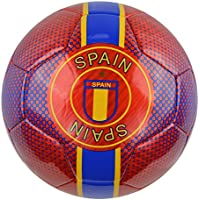Vizariスペイントレーナーサッカーボール91858、赤、1