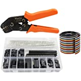 WayinTop Dupont Connector Crimping Tool Kit Crimper Plier 2.54mm Header Male Female Crimp Pins Terminals Housing 1 2 3 4 5 6