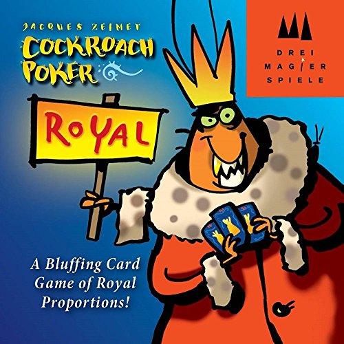 Schmidt Cockroach Poker Royal Bluffingカードゲーム