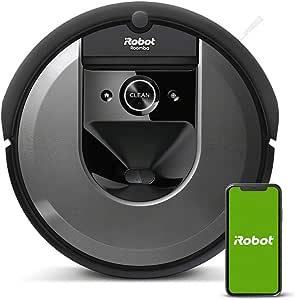【キャッシュバックキャンペーン対象】ルンバ i7 アイロボット ロボット掃除機 水洗いできるダストボックス wifi対応 スマートマッピング 自動充電・運転再開 吸引力 カーペット 畳 i715060 【Alexa対応】