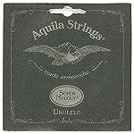 Aquila Super Nylgut ウクレレ弦 セット コンサート用 Low-G AQS-CLW
