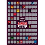 A2 Scratch Off Wall Poster (Must See Horror Movies)