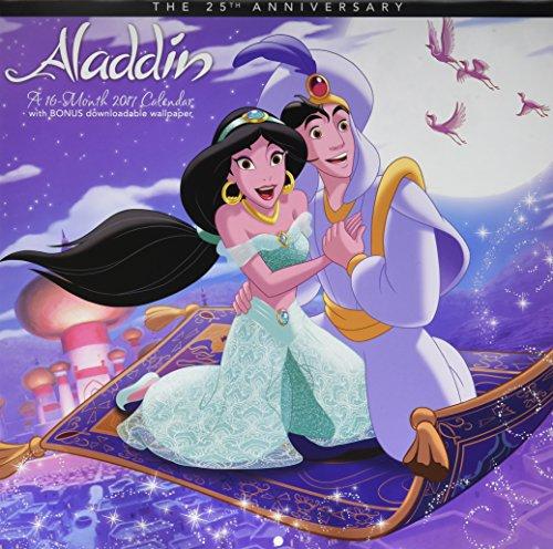 Aladdin The 25th Anniversary 2017 Calendar: Includes Downloadable Wallpaper