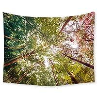 壁のタペストリー ウォールタペストリー熱帯植物デジタル印刷多機能ホームのベッドルームリビングルーム装飾のペンダントをぶら下げ (Color : C, Size : 150*130CM)