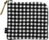 現代百貨 COCO 抗菌マスクポーチ ハーフ BLACK W140×D10×H130 A425BK