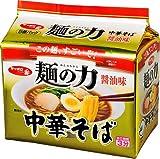 サッポロ一番 麺の力 中華そば醤油味 5食P×6個