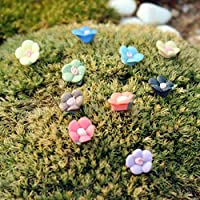 Joneホットセール10個かわいいミニチュアオーナメントフェアリーガーデンマイクロ風景盆栽ドールハウス装飾花としてギフト