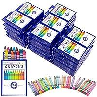 Color Swell クレヨンバルク36パック24カウント鮮やかな色教師品質の耐久性のある教室パック子供学生パーティーの好意によって