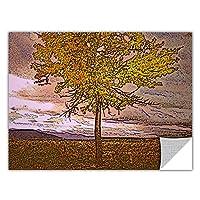ArtWall Appealz Dean Uhlinger 'Teton Meadow Fall' 取り外し可能なグラフィックウォールアート 18x24 0uhl098a1824p