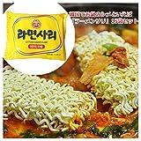【オットゥギ】ラーメンサリ (鍋物用ラーメン) 15袋セット フード ドリンク スイーツ 麺類 [並行輸入品]