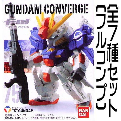 FW GUNDAM CONVERGE13(ガンダム コンバージ13) 【全7種セット(フルコンプ)】