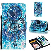 iPhone 8 Wallet Case,iPhone 7 Wallet Case, Colorful Leather Case Flip Folio Book Case Cover with Kickstand Feature Card Slots and Magnetic For iPhone 7/iPhone 8(11AC1604)
