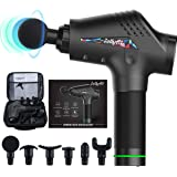 Jollyfit Massage Gun, Portable Handheld Body Muscle Massager Professional Deep Tissue, Back Neck Leg Massager Vibration with