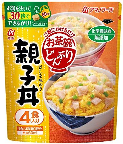 アマノフーズ お茶碗どんぶり 親子丼 4食P