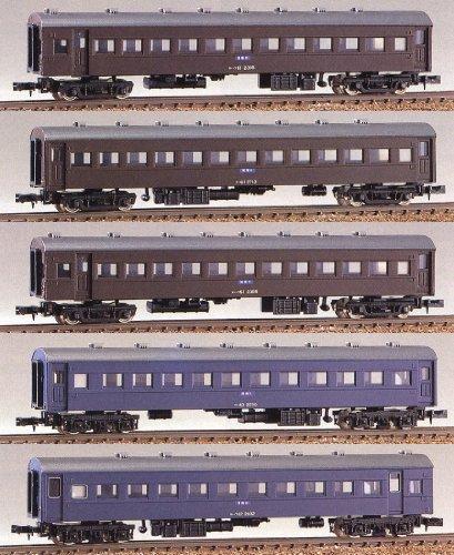 Nゲージ 104 ローカル普通列車 5輌編成セット (未塗装車体キット)