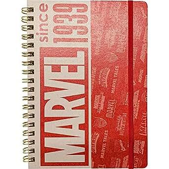 MARVEL 80YEARS/ゴムバンド付きリングノート IG3165