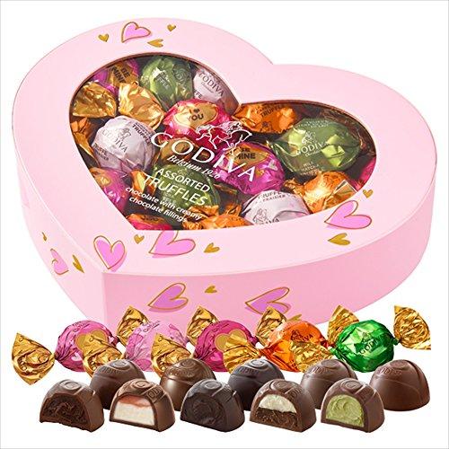 ゴディバ (GODIVA) ラッピングチョコレート トリュフアソートメント 20粒 -