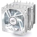 Deepcool Neptwin WH cpuクーラー cpuファン Intel/amd両対応 6本 ヒートパイプ