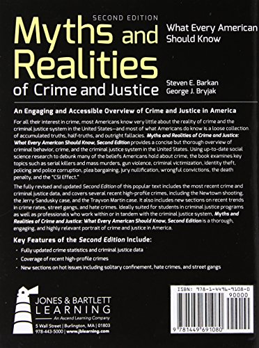 myths and reality of crime 2 Crime myths and facts essaysthere are many ways in which the public interprets and reacts to crime these perceptions are often inaccurate because of the media.
