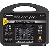 eneloop Panasonic K-KJ75KHC82A eneloop pro High Capacity Rechargeable Batteries Power Pack 8AA, 2AAA, Advanced Battery Charge