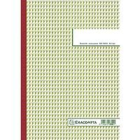 Exacompta A4垂直3連カーボンレスコピーフレンチプリントオーダーブック