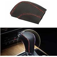 本革 サイドブレーキ カバー 各車種 汎用 上質 高級 パーキングブレーキ 保護 (シフトノブカバー)