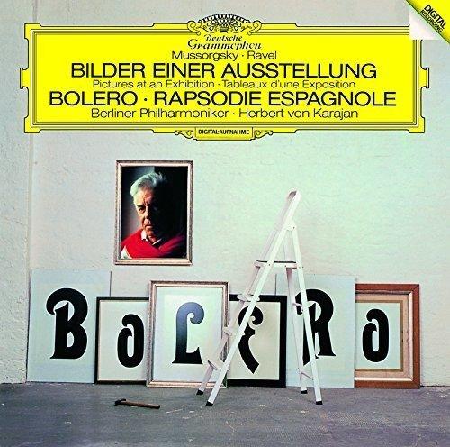 ラヴェル:ボレロ、スペイン狂詩曲/ムソルグスキー:組曲《展覧会の絵》