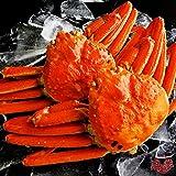 【ギフト対応】 最高級 天然ズワイガニ姿 大サイズ 蟹味噌たっぷりの厳選された本ずわいがに 贈答用にも最適 【約600g×2尾】 (¥ 4,833)