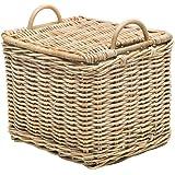 KOUBOO 1060105 Rattan Core Rectangular Storage Basket