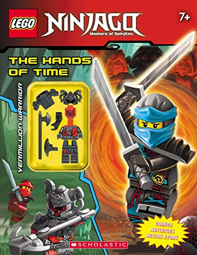 Activity Book With Minifigure (Lego Ninjago)